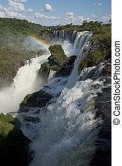 bajas, lado, Argentino,  Iguazu