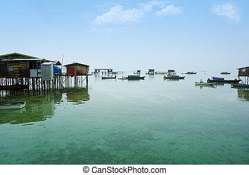 bajau laut village