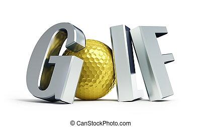bajnokság, golf