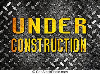 bajo construcción, plano de fondo
