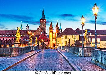 bajorország,  Wurzburg, németország