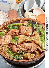 Bak kut teh - Bak Kut The - Malaysian stew of pork and ...