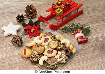 Baked cookies for Christmas