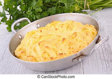baked mashed potato