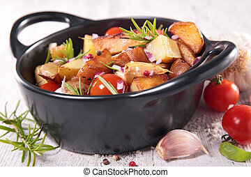 baked vegetable