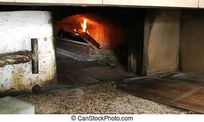 Baker and the Wood Fire Oven