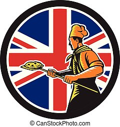 baker pizza pan oven CIRC-UK-FLAG