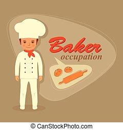 baker profession, bakery