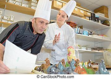 bakers, кухня, коммерческая, команда