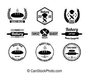 Bakery badges