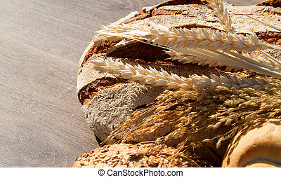 Bakery Bread and Sheaf