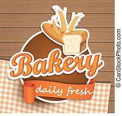 Bakery bread sticer.