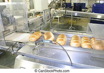 Bakery , conveyer
