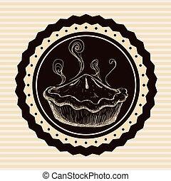 Bakery design - Bakery digital design, vector illustration...