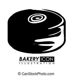 Bakery design, vector illustration.