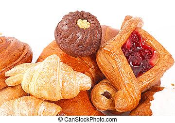 Bakery foodstuffs assortment