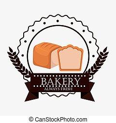 bakery fresh bread label