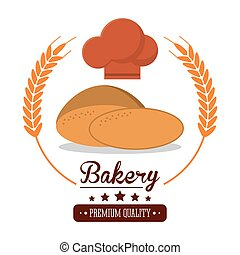 bakery fresh bread premium quality label