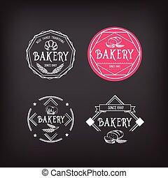 Bakery icon design. Menu badge vintage.