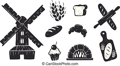 Bakery Icons Collection