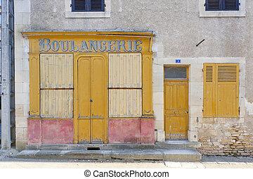 bakery in La Celle, Centre, France