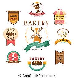 Bakery label - A vector illustration of bakery label design