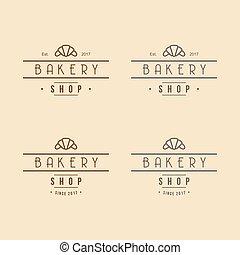 Bakery Logo Vintage Design Vector Illustration Icon