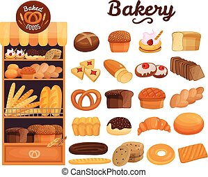 Bakery Products Set