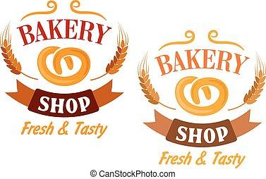 Bakery Shop and pretzel sign