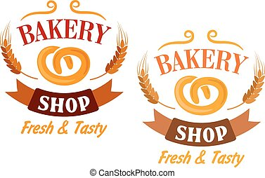 Bakery Shop and pretzel sign