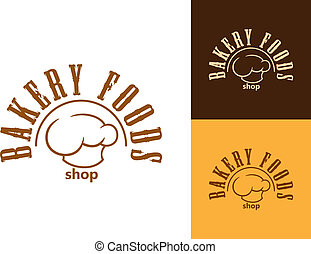 Bakery shop emblem or label