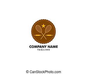 Bakery Shop Logo Template Vector Design Element