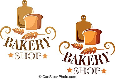 Bakery Shop sign or label