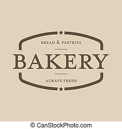 Bakery vintage stamp sign vector