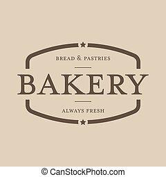 Bakery vintage stamp sign