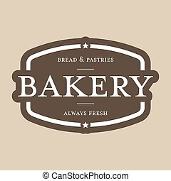 Bakery vintage stamp sign