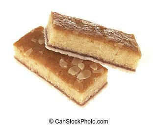 Bakewell Tart Slices