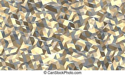 bakgrund, abstrakt, vektor, citron, polygonal, geometrisk, ...