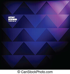 bakgrund., abstrakt, vektor, triangel, geometrisk