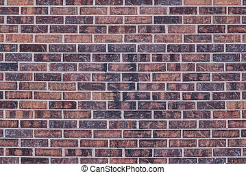 bakgrund, av, tegelsten vägg