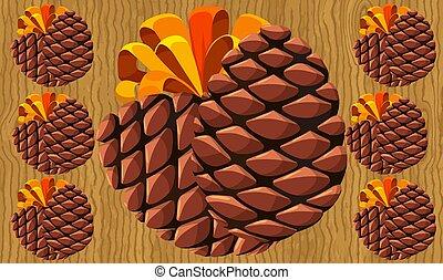 bakgrund, frukt, digital, palm, design, abstrakt, vävnad