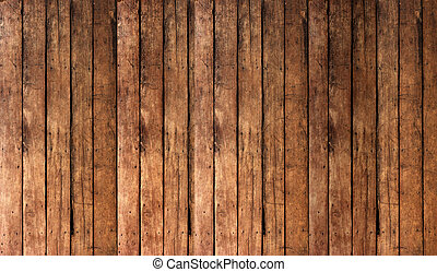 bakgrund, gammal, plankor, ved