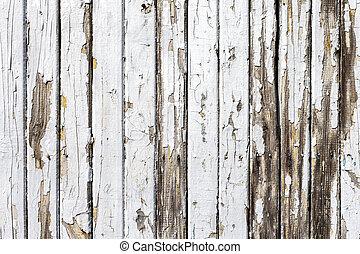 bakgrund, gammal, vit, ved, naturlig, vägg, årgång