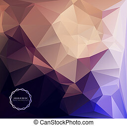 bakgrund, geometrisk