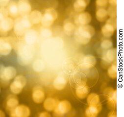 bakgrund., gyllene