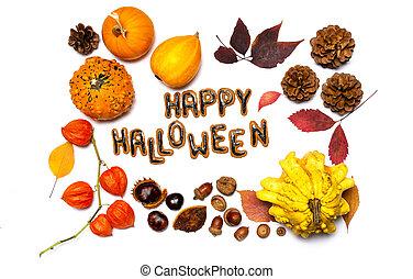 bakgrund, halloween, dag, kort