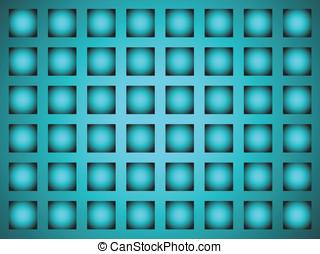 bakgrund, in, den, bilda, av, a, galler