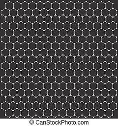 bakgrund, in, den, bilda, av, a, graphene, galler