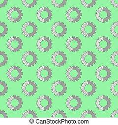 bakgrund., industriell, pattern., seamless, drev