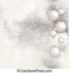 bakgrund, -, jul, illustration